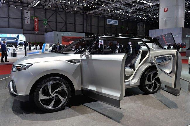 SsangYong X100 - Đối thủ mới của Honda Vezel và Hyundai ix25 3