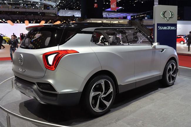 SsangYong X100 - Đối thủ mới của Honda Vezel và Hyundai ix25 4