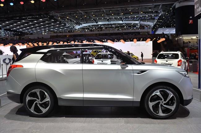 SsangYong X100 - Đối thủ mới của Honda Vezel và Hyundai ix25 5