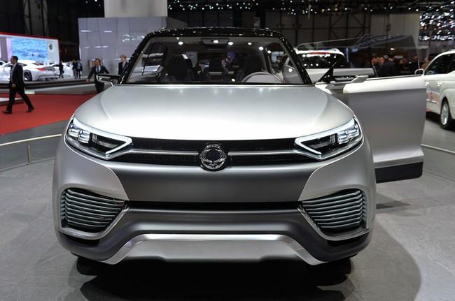 SsangYong X100 - Đối thủ mới của Honda Vezel và Hyundai ix25 6