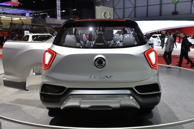 SsangYong X100 - Đối thủ mới của Honda Vezel và Hyundai ix25 7