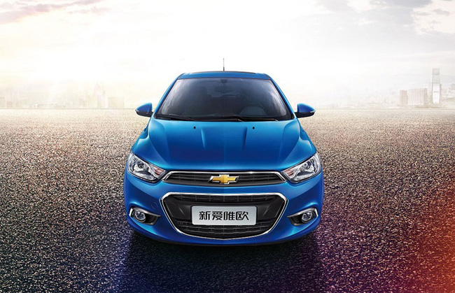 Hé lộ nội thất của Chevrolet Aveo phiên bản nâng cấp 3
