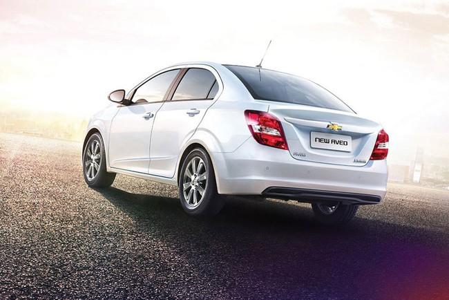 Hé lộ nội thất của Chevrolet Aveo phiên bản nâng cấp 4
