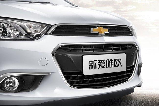 Hé lộ nội thất của Chevrolet Aveo phiên bản nâng cấp 5