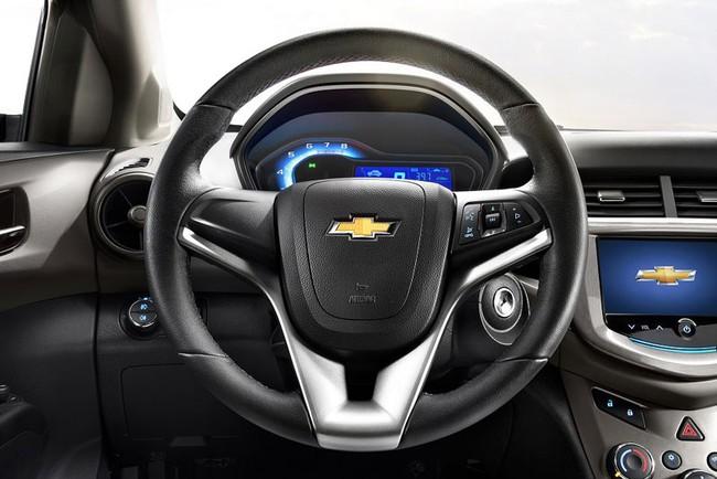 Hé lộ nội thất của Chevrolet Aveo phiên bản nâng cấp 10