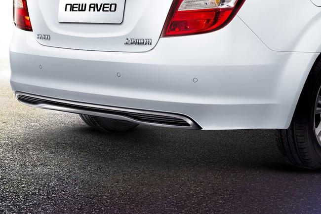 Hé lộ nội thất của Chevrolet Aveo phiên bản nâng cấp 7