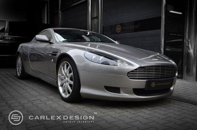 Nội thất của Aston Martin DB9 đã sang càng thêm đẳng cấp 2