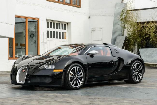 Rapper Drake chán siêu xe Bugatti Veyron được tặng 1