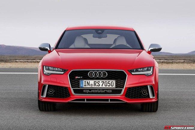 """Audi RS7 Sportback 2015: Điểm nhấn ở đèn pha """"ma trận"""" 1"""