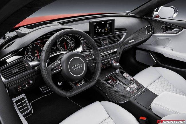 """Audi RS7 Sportback 2015: Điểm nhấn ở đèn pha """"ma trận"""" 7"""