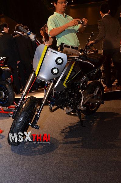 Vừa ra mắt, Honda MSX125 đã có hàng tá bản độ 11