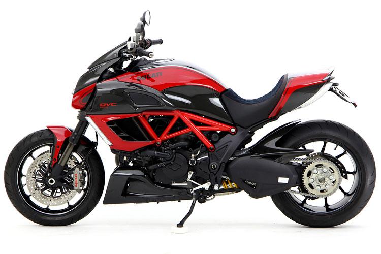 Giật mình với giá của Ducati Diavel độ 3
