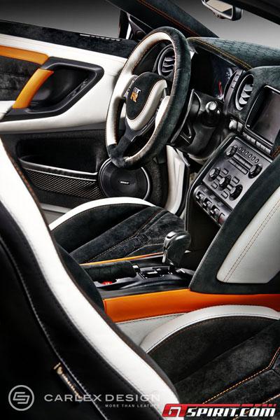Nội thất tuyệt đẹp cho siêu xe giá rẻ Nissan GT-R 1