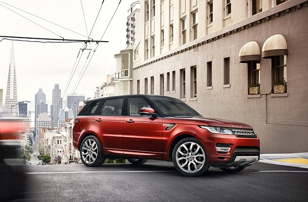 """""""Điệp viên 007"""" giới thiệu Range Rover Sport 2014 trên phố 4"""