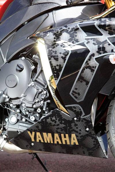 Yamaha YZF-R1 Ünkut - Xế nổ độc nhất của rapper 6
