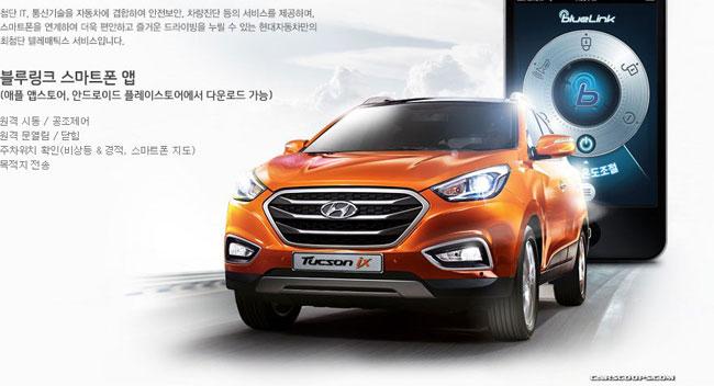 Hyundai Tucson ix 2014 lộ diện 1