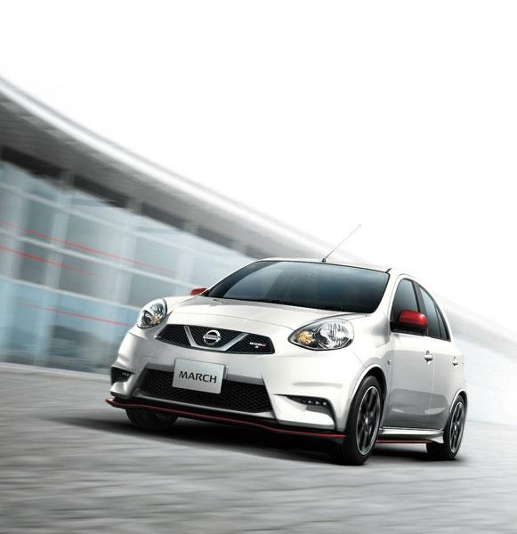 Nissan Micra phiên bản mạnh hơn trình làng 1