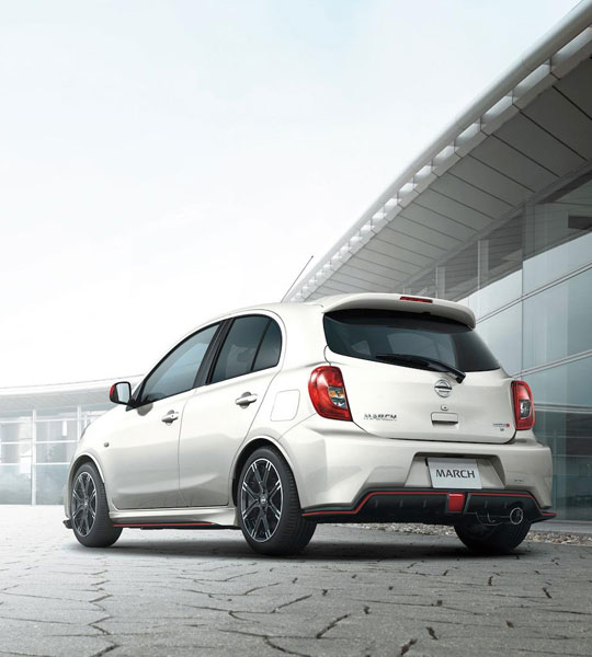 Nissan Micra phiên bản mạnh hơn trình làng 2