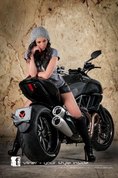 Ducati Diavel dữ dằn và cao cấp hơn 8