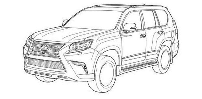 Rò rỉ hình ảnh của Toyota Land Cruiser Prado 2014 3