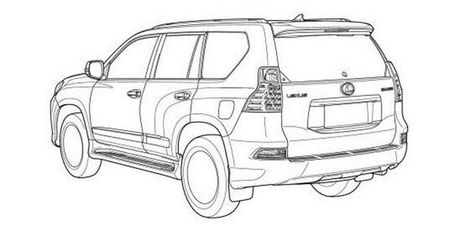 Rò rỉ hình ảnh của Toyota Land Cruiser Prado 2014 4