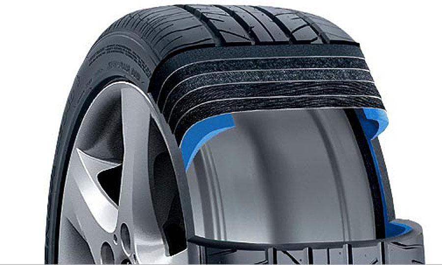 Lốp xe run-flat: Nên dùng hay không? 1