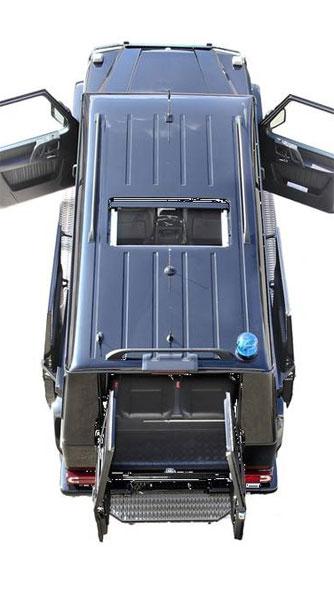 Độc đáo với Mercedes-Benz G63 AMG trục cơ sở dài 2