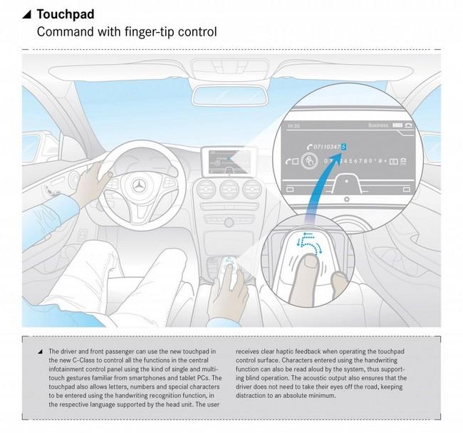 Mercedes-Benz C-Class thế hệ mới: Vượt trội về công nghệ 3