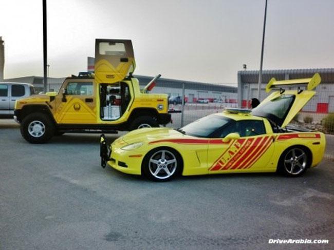 Chevrolet Corvette 2014 được dùng làm xe cứu hỏa 1