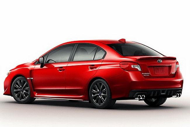 Subaru WRX 2015 mượn động cơ của Forester 1