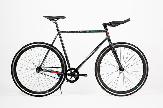 """Hot girl mặt đẹp, dáng chuẩn quảng cáo xe đạp Fixed Gear giá """"mềm"""" 12"""