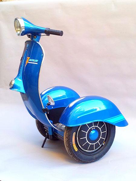 Xe tự cân bằng phiên bản Vespa đầu tiên trên thế giới 2