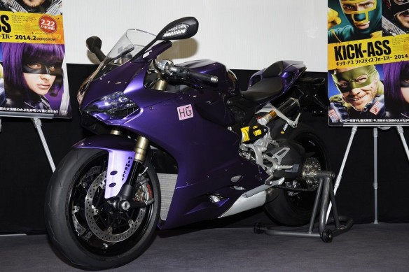 Siêu môtô Ducati 1199 Panigale màu độc 1