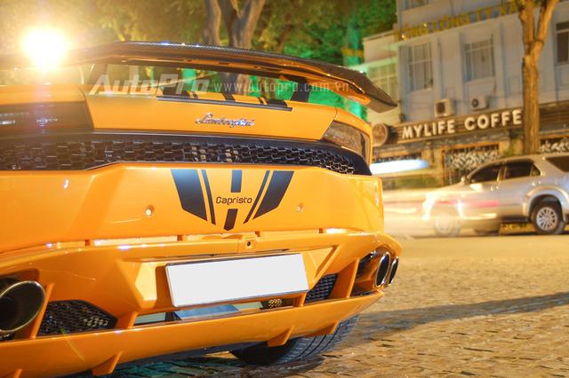 Rao bán Lamborghini Huracan LP610-4 độ gần 15,2 tỷ Đồng tại Sài thành - Ảnh 11.