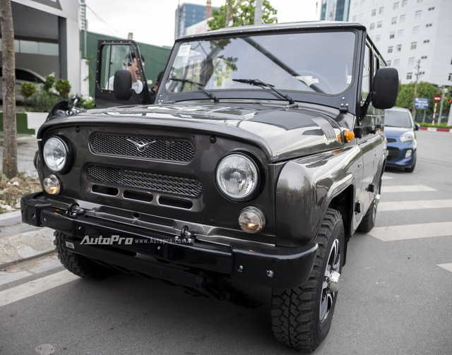 Xe UAZ không rẻ như kỳ vọng, giá từ 460 triệu Đồng tại Việt Nam - Ảnh 1.