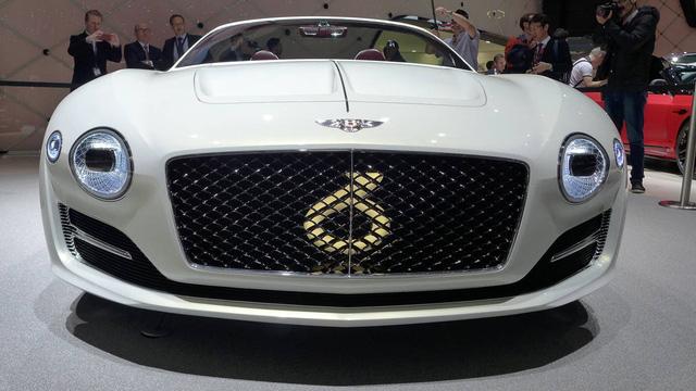 Xem xe mui trần sang chảnh Bentley EXP 12 Speed 6e lặng lẽ rời triển lãm Geneva 2017 - Ảnh 3.