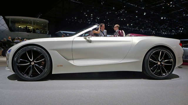 Xem xe mui trần sang chảnh Bentley EXP 12 Speed 6e lặng lẽ rời triển lãm Geneva 2017 - Ảnh 4.