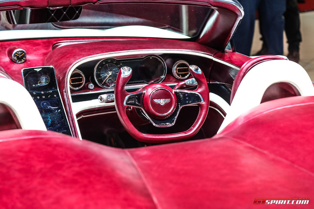 Xem xe mui trần sang chảnh Bentley EXP 12 Speed 6e lặng lẽ rời triển lãm Geneva 2017 - Ảnh 5.