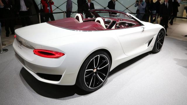 Xem xe mui trần sang chảnh Bentley EXP 12 Speed 6e lặng lẽ rời triển lãm Geneva 2017 - Ảnh 6.