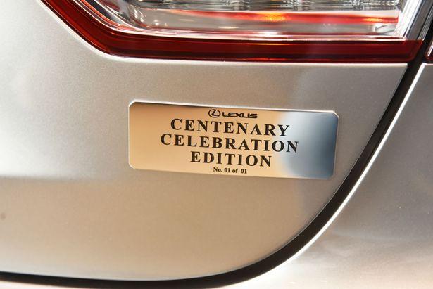 Chiếc Lexus LS hàng thửa mừng đại thọ 100 tuổi của khách hàng trung thành - Ảnh 2.