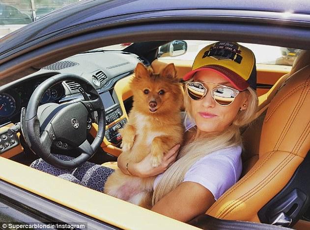 Làm quen với Supercar Blondie - Cô gái đến từ miền quê lái siêu xe để kiếm sống - Ảnh 3.
