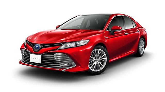 Sedan cỡ trung Toyota Camry 2018 lộ diện trong nhà máy ở châu Á - Ảnh 3.