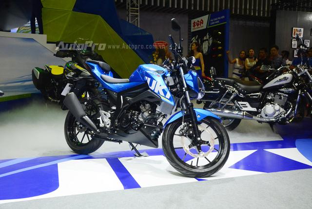 Suzuki GSX-S150 mới ra mắt Việt Nam có phiên bản Tourer mới - Ảnh 1.