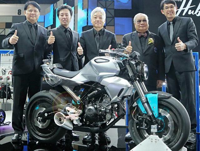 Honda hé lộ hình ảnh của mẫu mô tô 150 phân khối hoàn toàn mới - Ảnh 1.