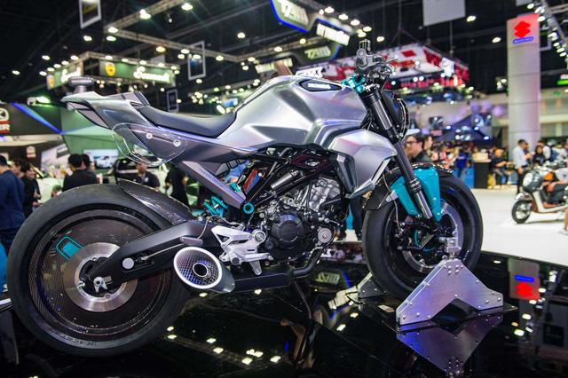 Honda hé lộ hình ảnh của mẫu mô tô 150 phân khối hoàn toàn mới - Ảnh 5.