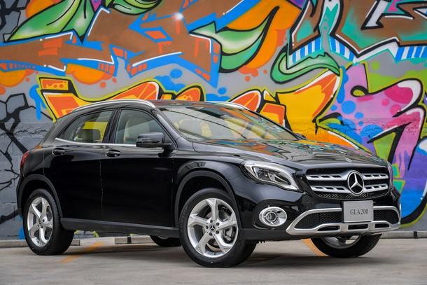 Mercedes-Benz GLA 2018 trình làng tại Thái Lan trước khi về Việt Nam vào tháng sau - Ảnh 1.