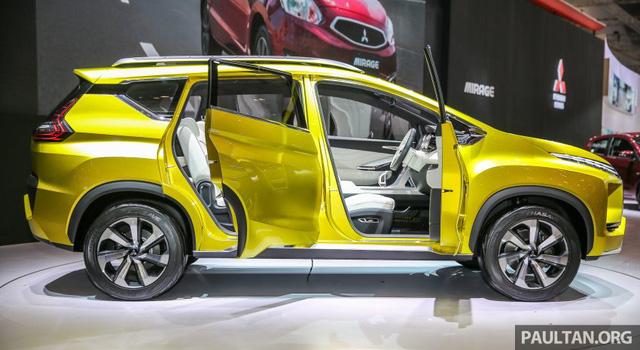 Ngắm trước xe MPV lai SUV Mitsubishi XM sẽ góp mặt trong triển lãm Ô tô Việt Nam 2017 - Ảnh 2.