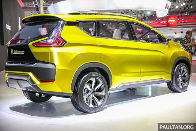 Ngắm trước xe MPV lai SUV Mitsubishi XM sẽ góp mặt trong triển lãm Ô tô Việt Nam 2017 - Ảnh 3.