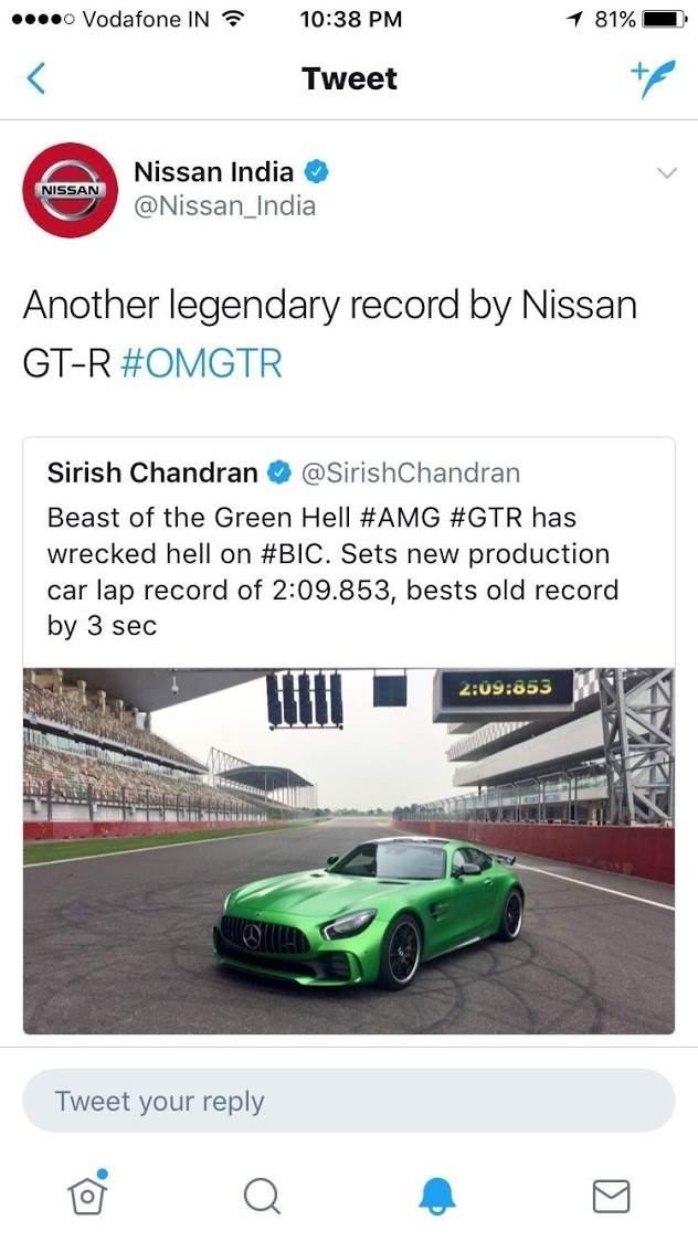 Mercedes-AMG GT R lập kỷ lục trên đường đua, Nissan ăn mừng vì tưởng bở - Ảnh 2.
