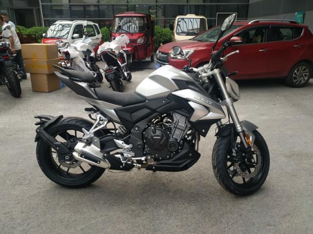 Loncin trình làng naked bike 500 phân khối mới với thiết kế giống Honda CB500F - Ảnh 3.